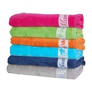 serviette de plage personnalisée