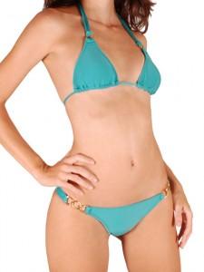 bikini bleu
